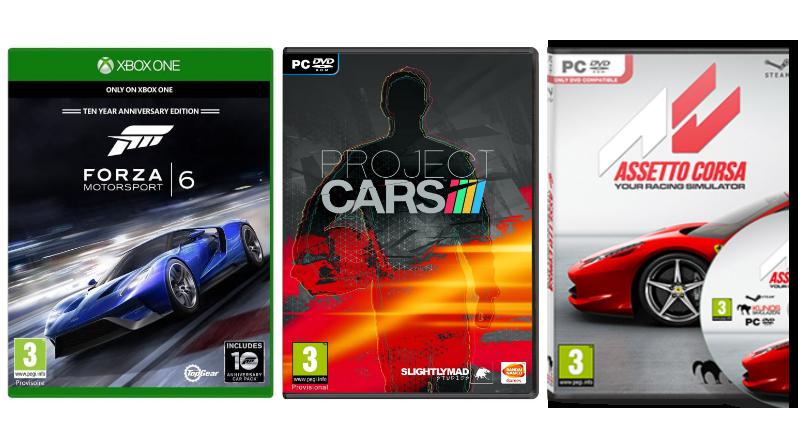 jeux de voiture console