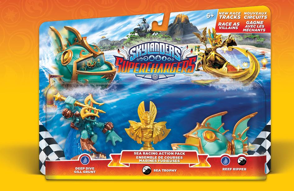 Skylanders Superchargers Racing pack de la mer