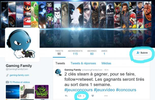 Jeux concours Gaming Family