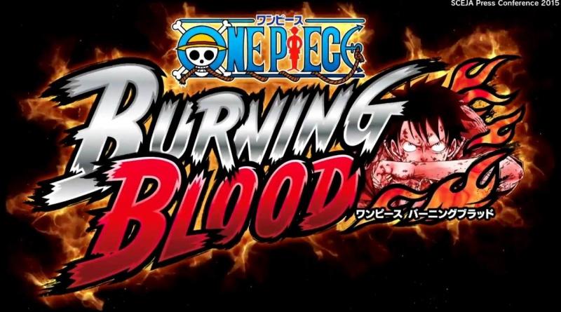 one piece burning blood