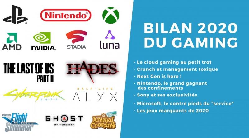 Bilan 2020 Gaming