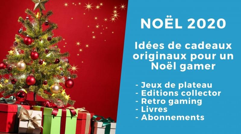 Idée cadeaux originaux pour Noël gamer