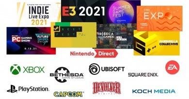 Planning E3 et autres événements gaming été 2021
